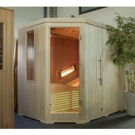 INFRAROOD SAUNA 200 DUOFLEX SHOWROOM MODEL VLIERDEN
