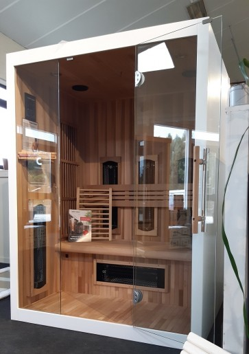 COMBI SAUNA 140 VALERO RC SHOWROOM MODEL VLIERDEN