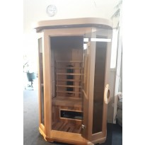 INFRAROOD SAUNA 2 ECLIPS RED CEDAR SHOWROOM ZOLDER