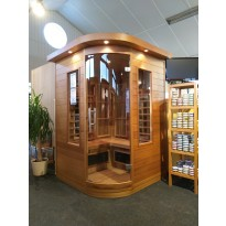 INFRAROOD SAUNA 3 DESIGN RC SHOWROOM MODEL VLIERDEN