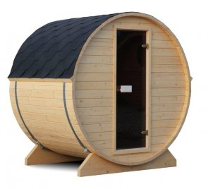 BUITENSAUNA BARREL SAUNA 136 MINI