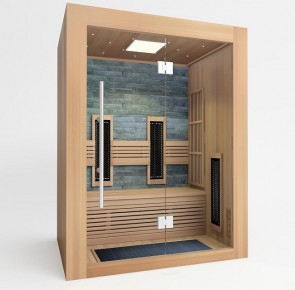 COMBINATIE SAUNA - GEROMIN 151+IR RED CEDAR