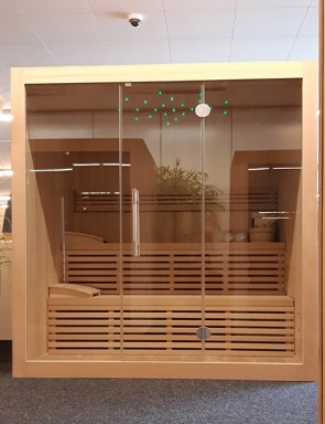 DESIGN SAUNA LINEE 205 SHOWROOM MODEL KREFELD
