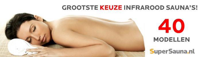 Infrarood sauna - Grootste keuze in de Benelux!
