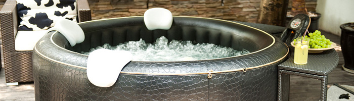 Opblaasbare Hot tub steeds populairder